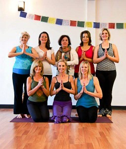 The Center for Yoga Class Photo